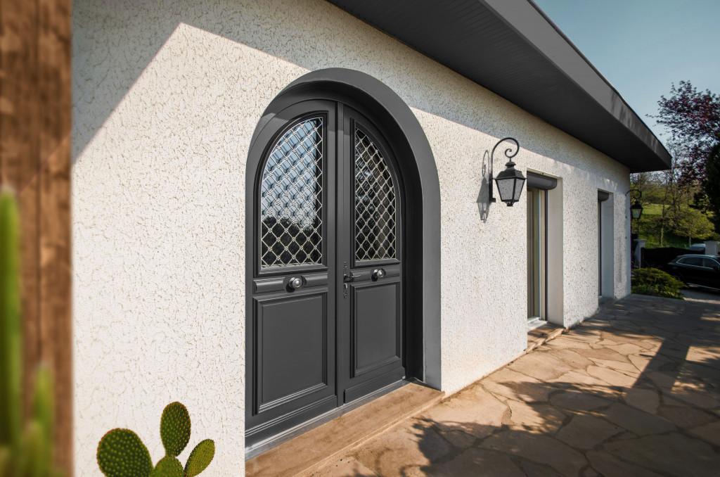 Porte d'entrée Alu Confort Lutèce