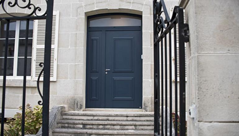 Porte d'entrée classique Alu Confort Picto 1