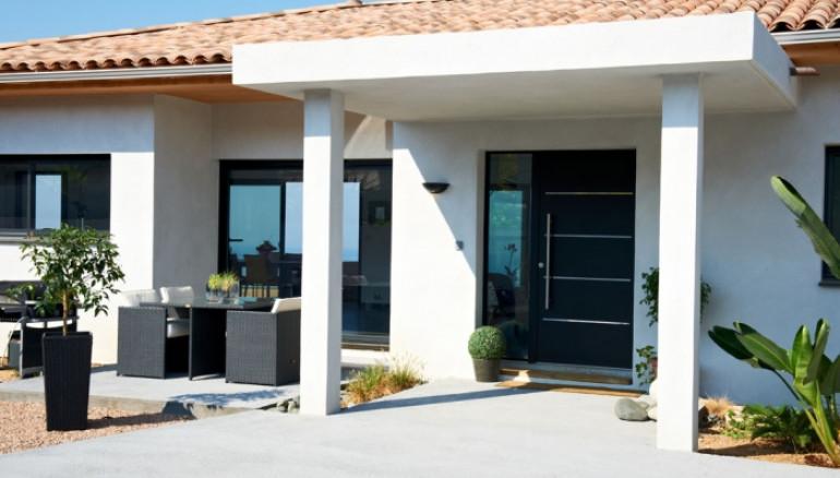 Porte d'entrée Alu Confort Cotim 11