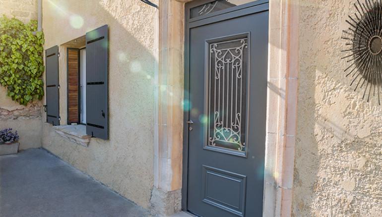 Porte d'entrée Alu Confort Cormelles