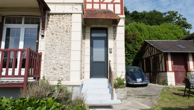 Porte d'entrée PVC Vega 1
