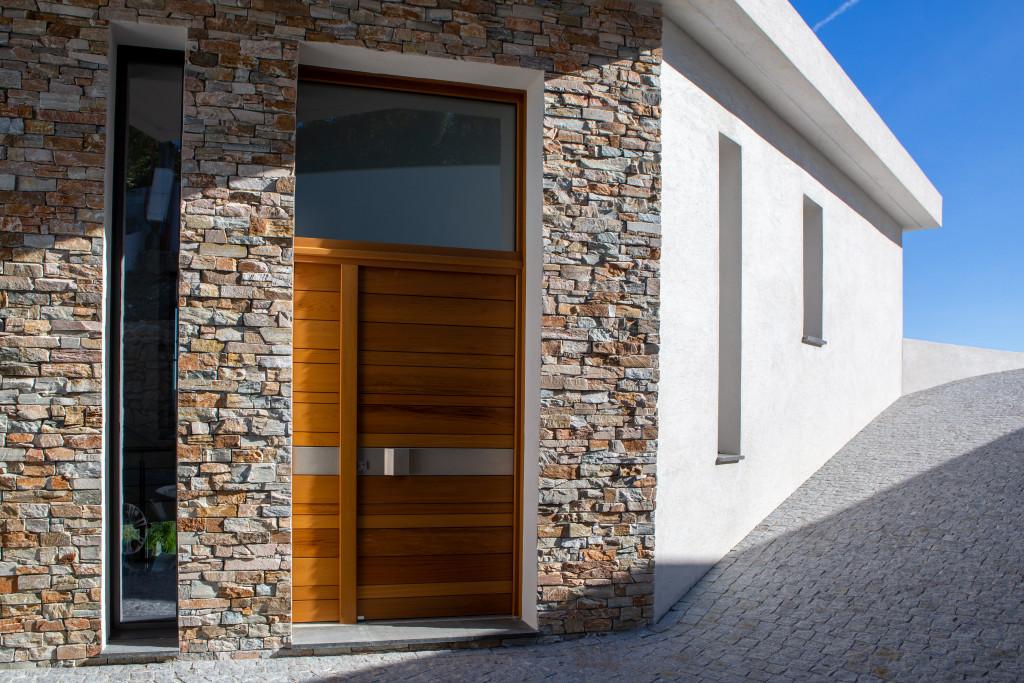 La porte d'entrée design  Nativ 2 de Zilten